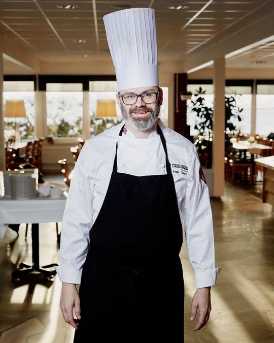 Ulf Inge Vien på Slobrua Gjestegård