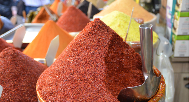 Krydderrikdom i Istanbul