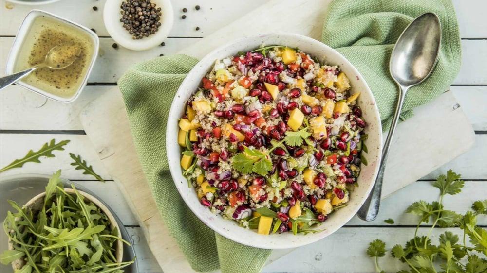 Quinoa ferdigsalat med personlig preg