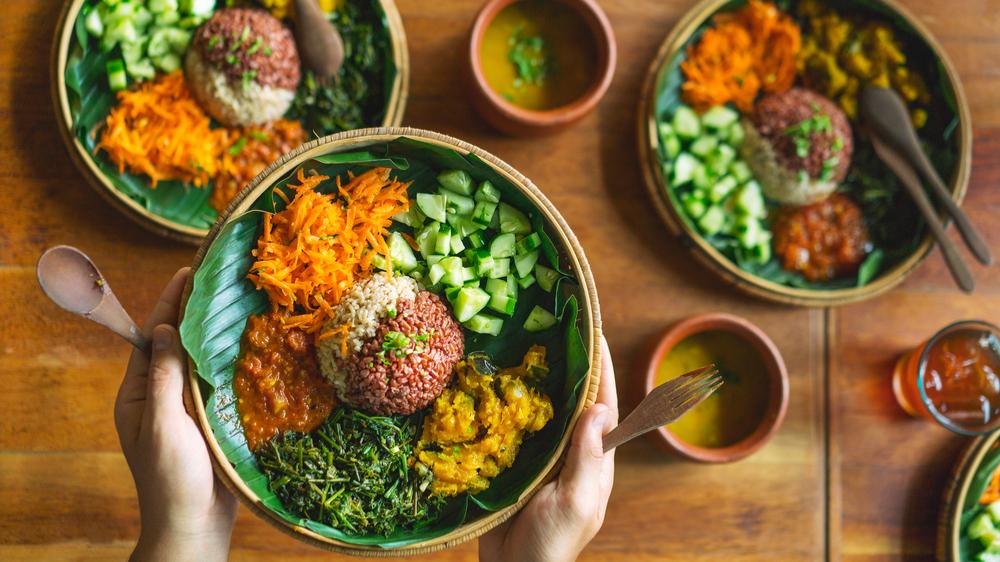 Mat fra alle verdenshjørner. Flerkulturell mat. Vegetarrett fra India