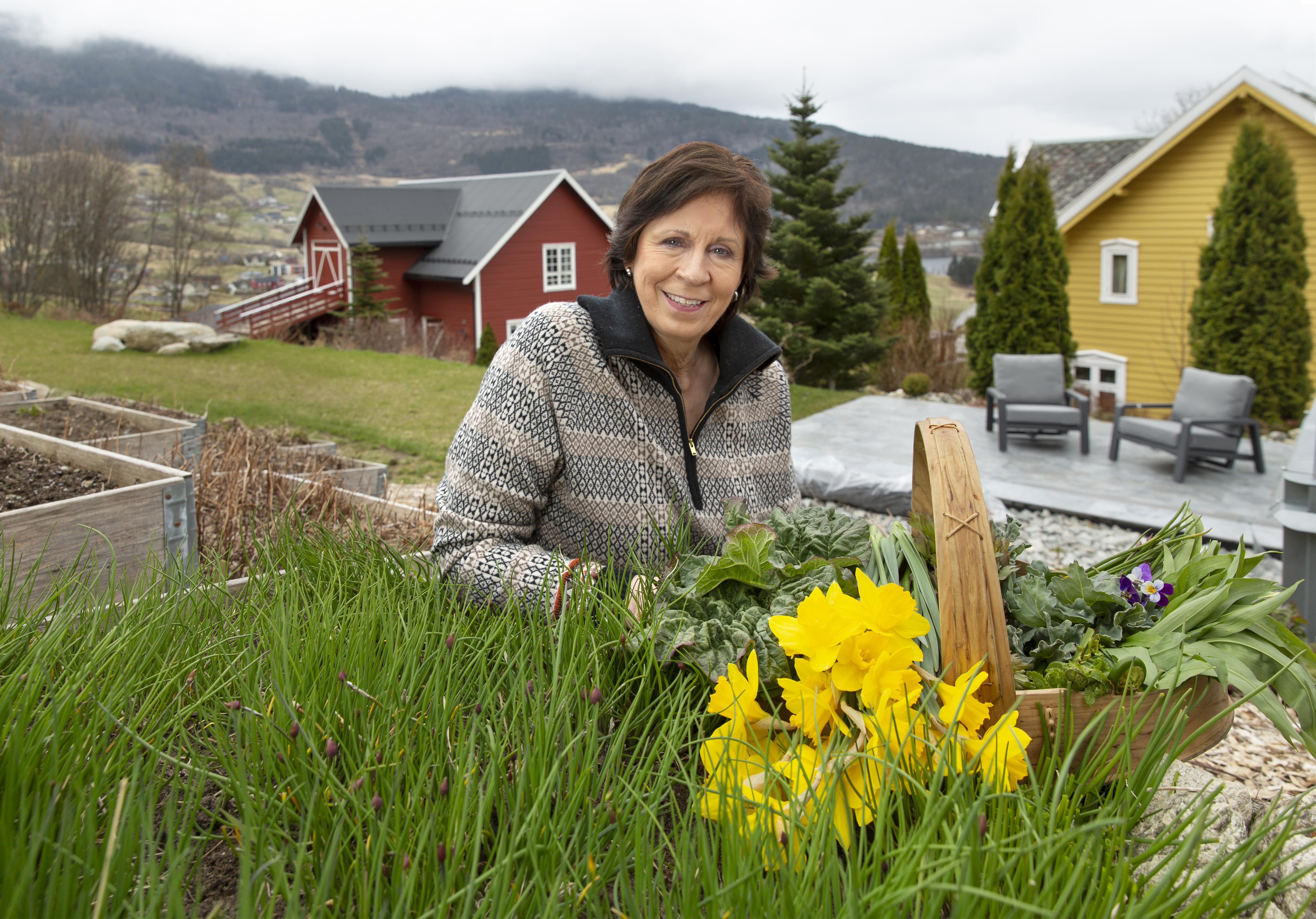 Månedens kokk: Lindis Alme har gjort ektemannens odel til sitt levebrød