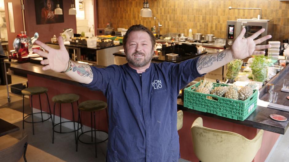 Månedens kokk: Cato Wara (46) byr på high-end tapas og uhøytidelig stemning