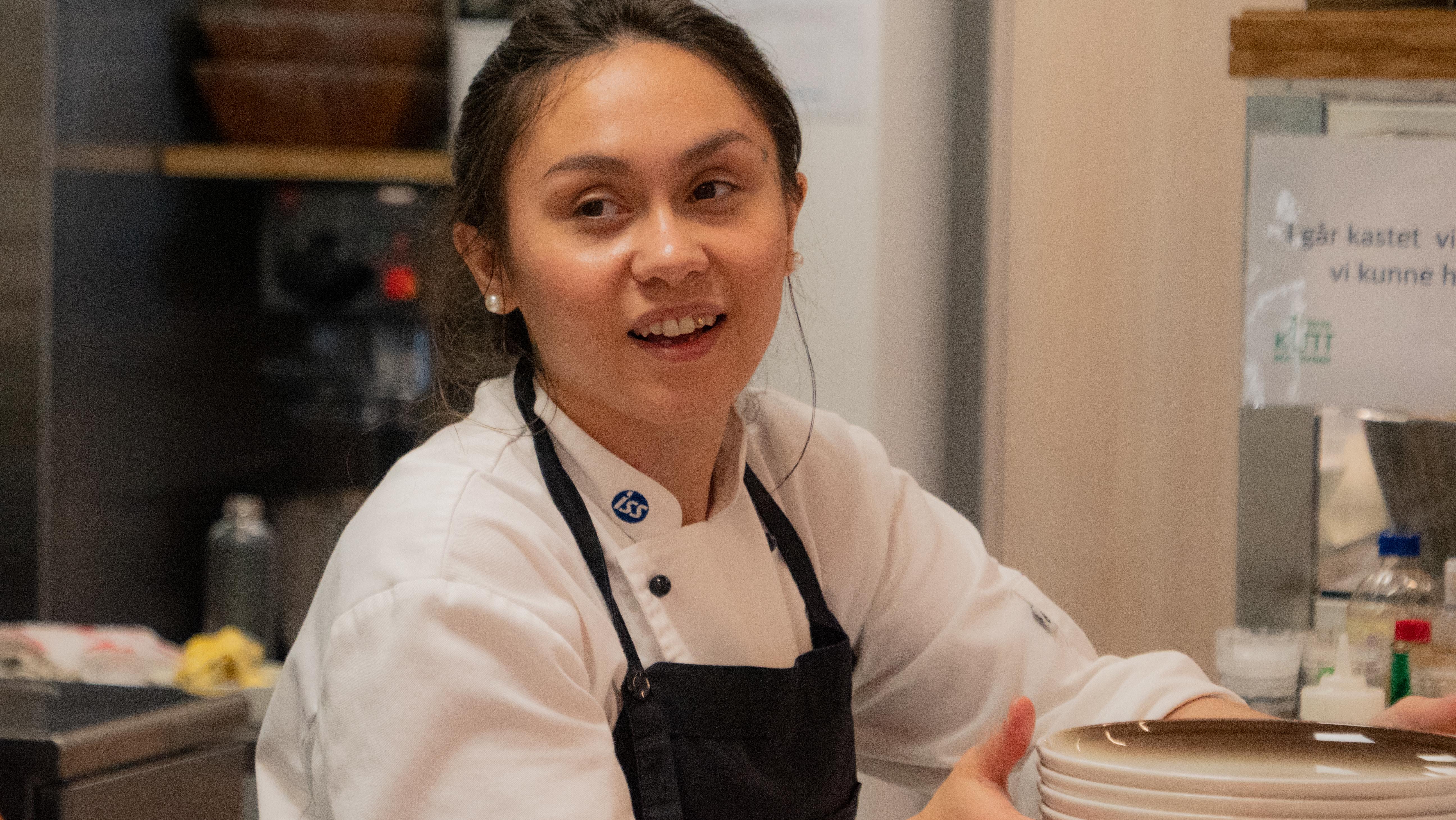 Månedens kokk:Dara Asmyr planlegger godt når hun drifter kantinen alene