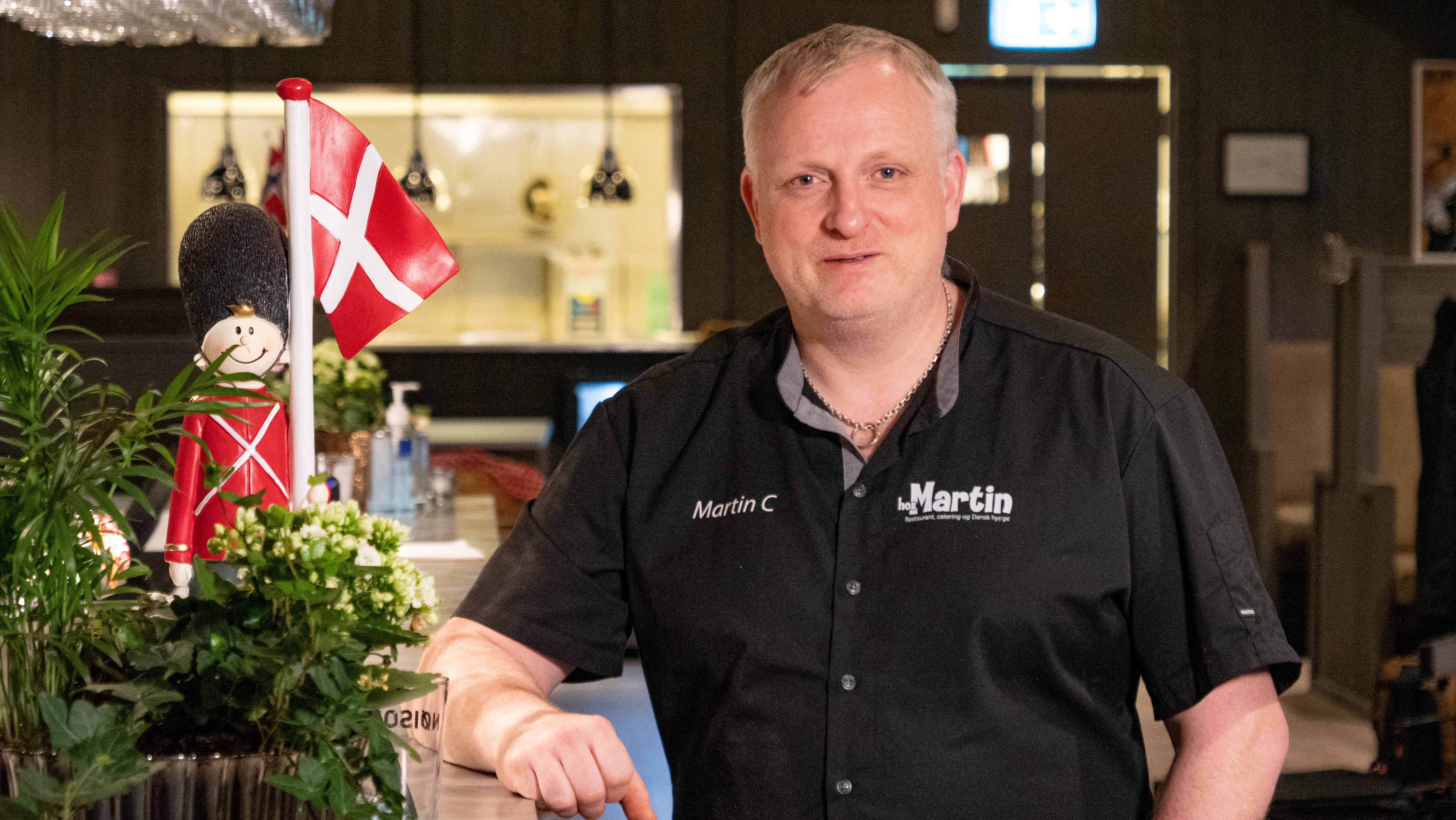Månedens kokk: Martin Christensen er tro mot det danske