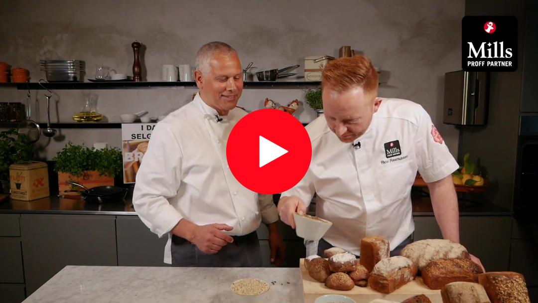 Video: Lukten av nybakt brød i kantina