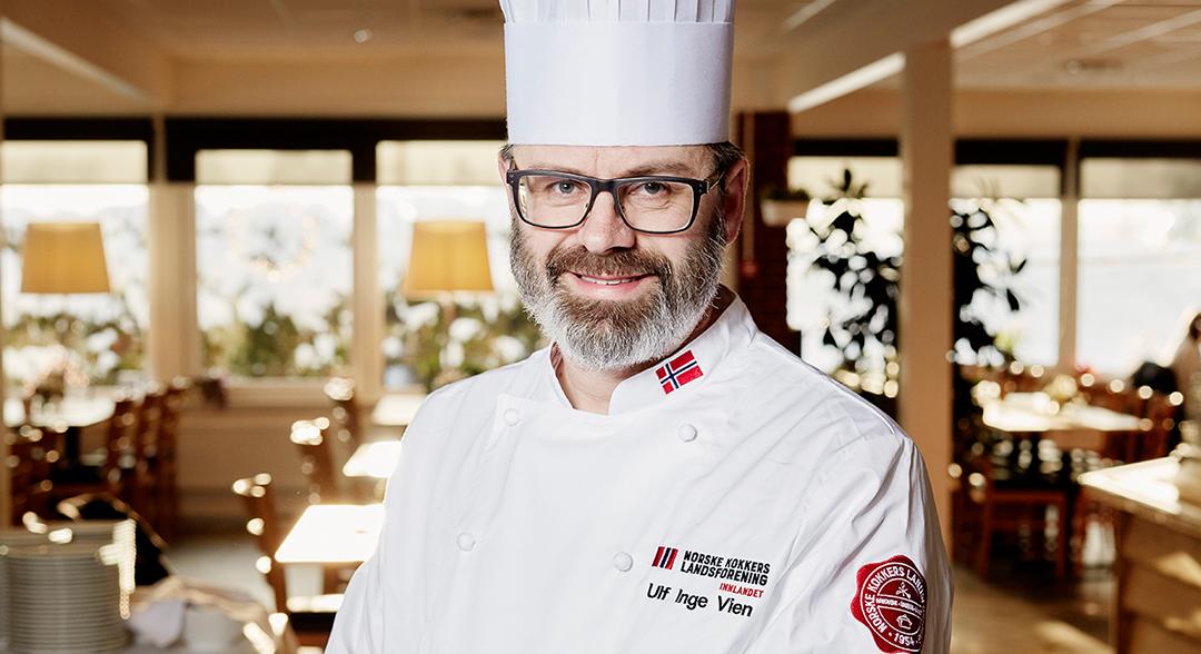 Månedens kokk: Ulf Inge Vien (47) løfter standarden på mat langs norske veier