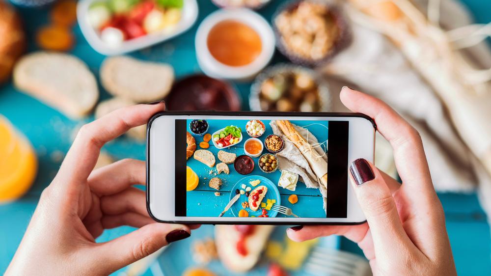 La deg inspirere til matlyst på Instagram