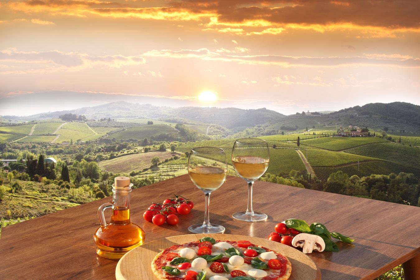 La oss ta en tur til Italia